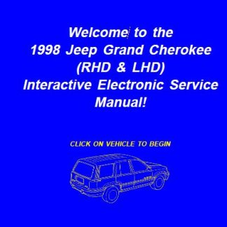 1998 Jeep Grand Cherokee Repair Manual