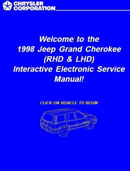 1998 Jeep Grand Cherokee Repair Manual