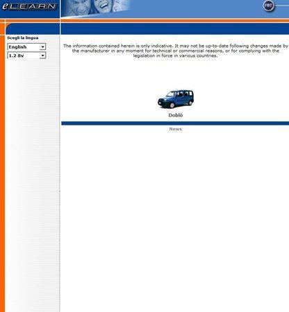Fiat Doblo Workshop Manual