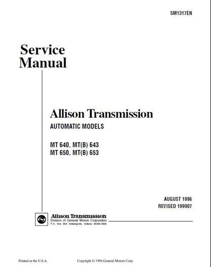 Allison manual array allison transmission mt 643 653 service manual download manualbuy rh manualbuy com fandeluxe Image collections