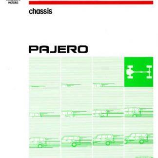2001 Mitsubishi Pajero Workshop Manual pdf
