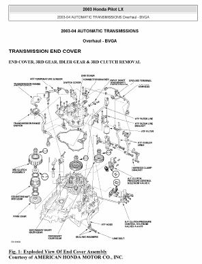 2003-2006 Honda Pilot Service Manual DownloadService Manual Download