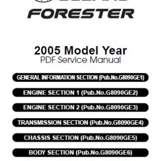 2005-Subaru-Forester-Manual