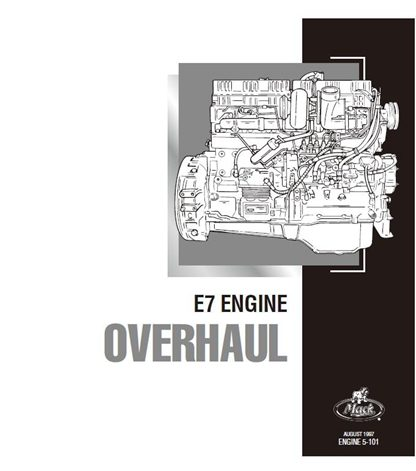 mack e7 diesel engine overhaul service manual - manualbuy  manualbuy