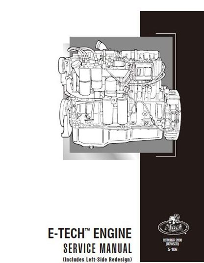 Mack E7 E-Tech Service Manual