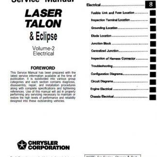 Mitsubishi Eclipse Manual Pdf