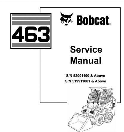 Bobcat-463-Manual