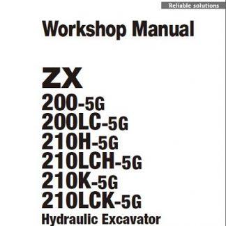 Hitachi-ZX200-5G-Hydraulic-Excavator-Workshop-Manual