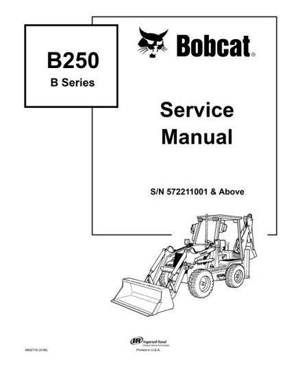 Bobcat-B250-Service-Manual
