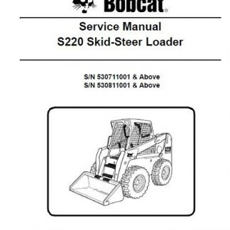 Bobcat-S220-Service-Manual