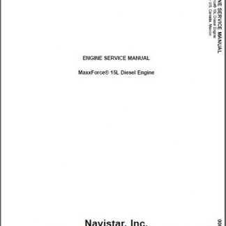 MaxxForce-15-Diesel-Engine-Service-Manual