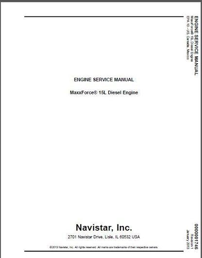 MaxxForce-15-Diesel-Engine-Service-Manual