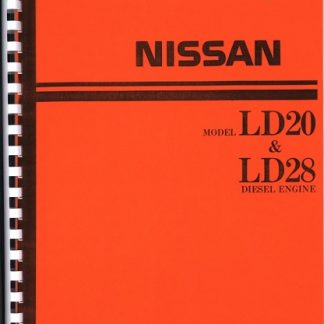Nissan Model ld20 ld28 Diesel Engine Manual