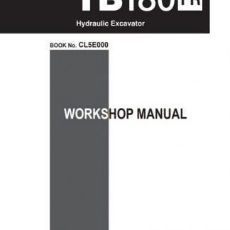 Takeuchi TB180FR Workshop Manual
