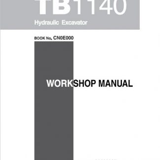 Takeuchi Tb1140 Workshop Manual