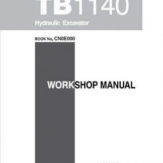 Takeuchi Tb1140 Workshop Manual