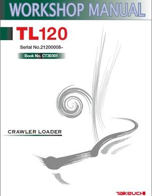 takeuchi tl120 workshop manual