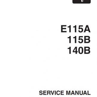 Yamaha Outboard E115A, 115B, 140B Service Repair Manual