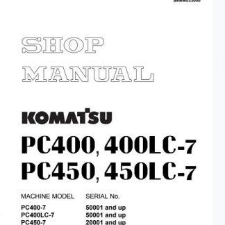Komatsu Service Pc400-7 Service Manual