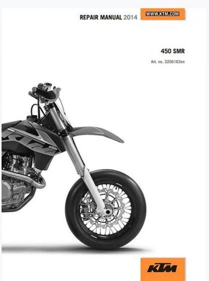 2014 KTM 450 SMR Repair Manual