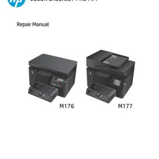 HP M177 Repair Manual