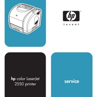 Hp Color LaserJet 2550 Service Manual