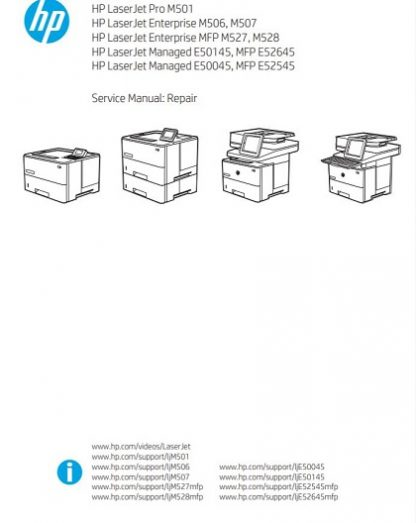 hp m527 service manual
