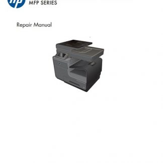 HP OfficeJet Pro X476 Repair Manual