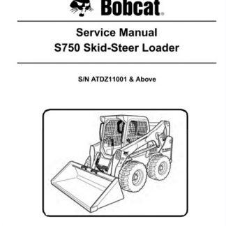 bobcat s750 service manual
