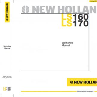 New Holland LS160 LS170 Skid Steer Loader Service Manual