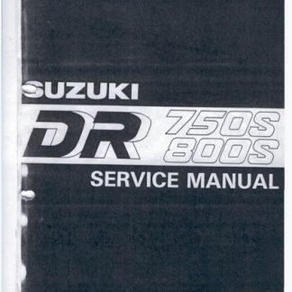 Suzuki DR750S DR800S Service Manual 1989-1997