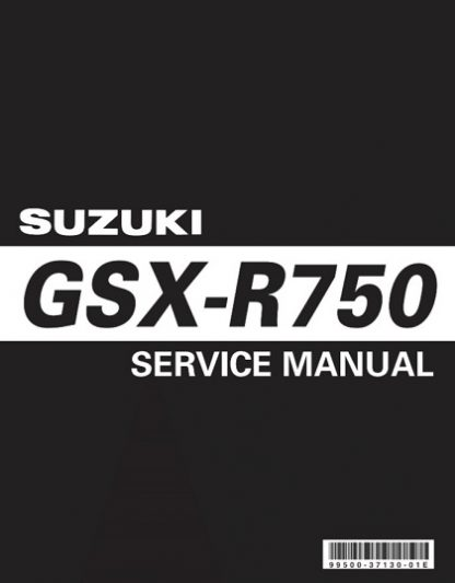 2006-2007 Suzuki GSX-R750 Srevice Repair Manual