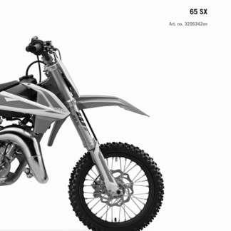 2019 KTM 65 SX Service Repair Manual