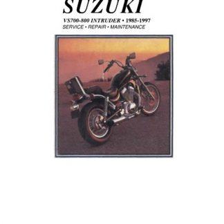 1985-1997 Suzuki VS700, VS800 Intruder Service Manual