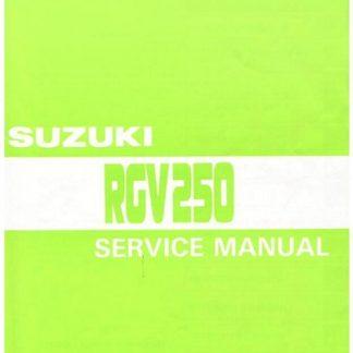 1990-1996 Suzuki RGV250 Service Manual