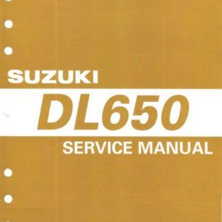 2004 Suzuki DL650 Service Repair Manual