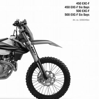 2019 KTM 450-500 EXC-F XCF-W Six Days Service Repair Manual