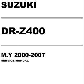 2000-2007 Suzuki DR-Z400 Service Repair Manual
