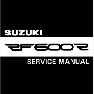 1993-1997 Suzuki RF600R Service Repair Manual