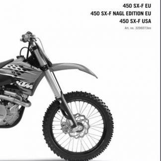 2010 KTM 450 SX-F Service Repair Manual