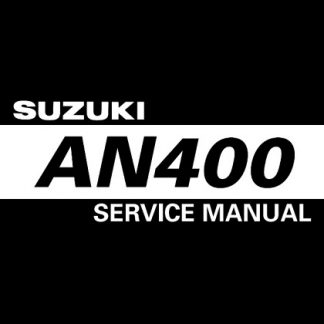 Suzuki An400 2003 Service Repair Manual