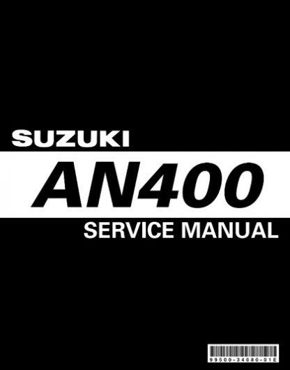 Suzuki An400 2003 Service Repair Manual