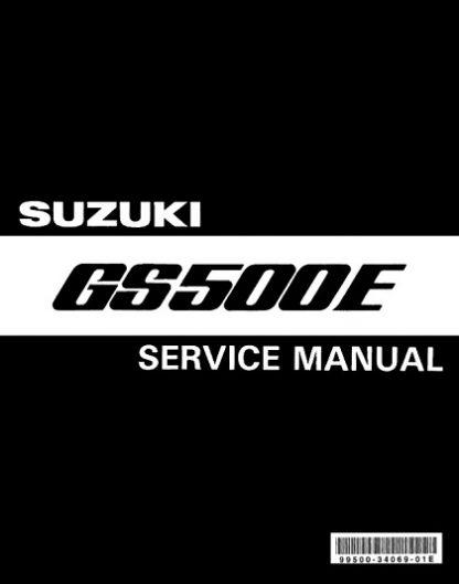 Suzuki GS500E 1989-1999 Service Repair Manual