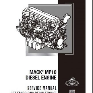 Mack MP10 Diesel Engine Service & Repair Manual