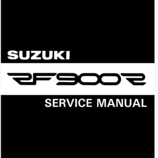 Suzuki RF900R 1993-1998 Service Repair Manual