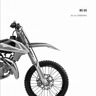 2019 KTM 85 SX Service Repair Manual