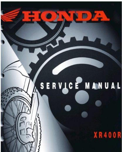 Honda XR400R 1996-2004 Service Repair Manual