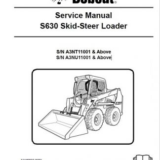 Bobcat S630 Skid-Steer Loader Service Repair Manual
