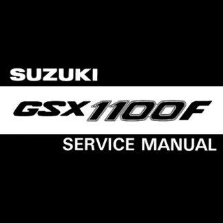 1989-1994 Suzuki GSX1100F Service Repair Manual