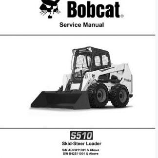 Bobcat S510 Skid - Steer Loader Service Manual